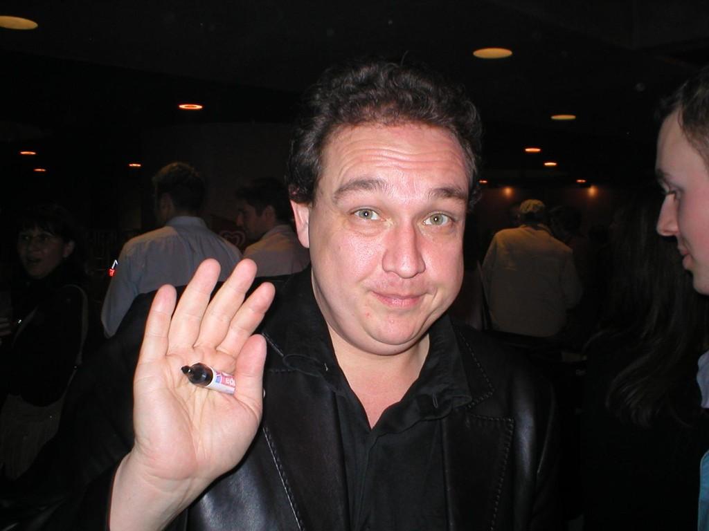 13.11.2004 Ausser Olli Kalkhove sollen auch Olli Welke sowie Olm dort gewesen sein