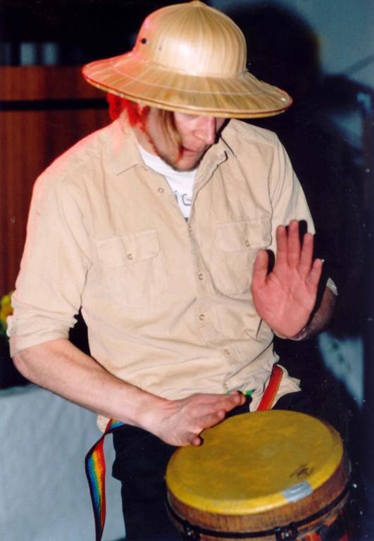 21.08.2004 Volkfest - Auftritt von Jan do Pandeiro