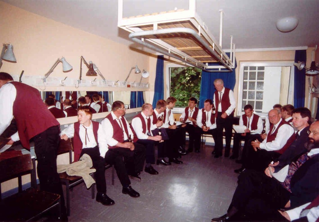 11.05.2003 Theater am Aegi; Hannover - Würstchenfresser Backstage