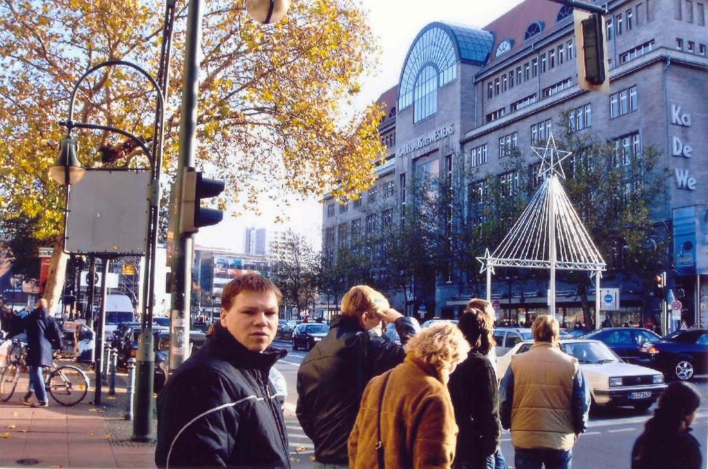 13.11.2004 Auf nach Berlin ins Tempodrom - KaDeWe