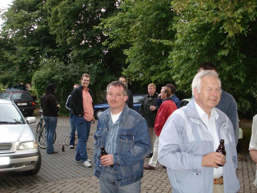 26.08.2005 Adler aufhängen bei König Memet