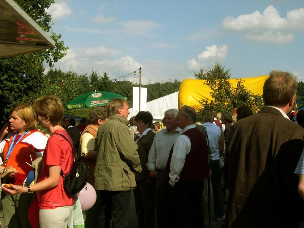 22.08.2004 Volksfest - Man(n) trifft sich