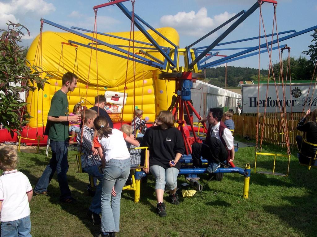 22.08.2004 Volksfest Kettenkarusell
