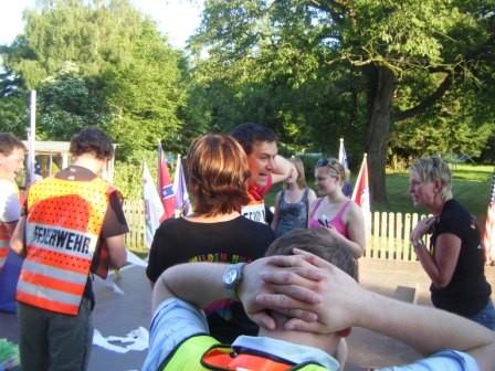 """Team """"Feuerwehr"""" in Aktion"""