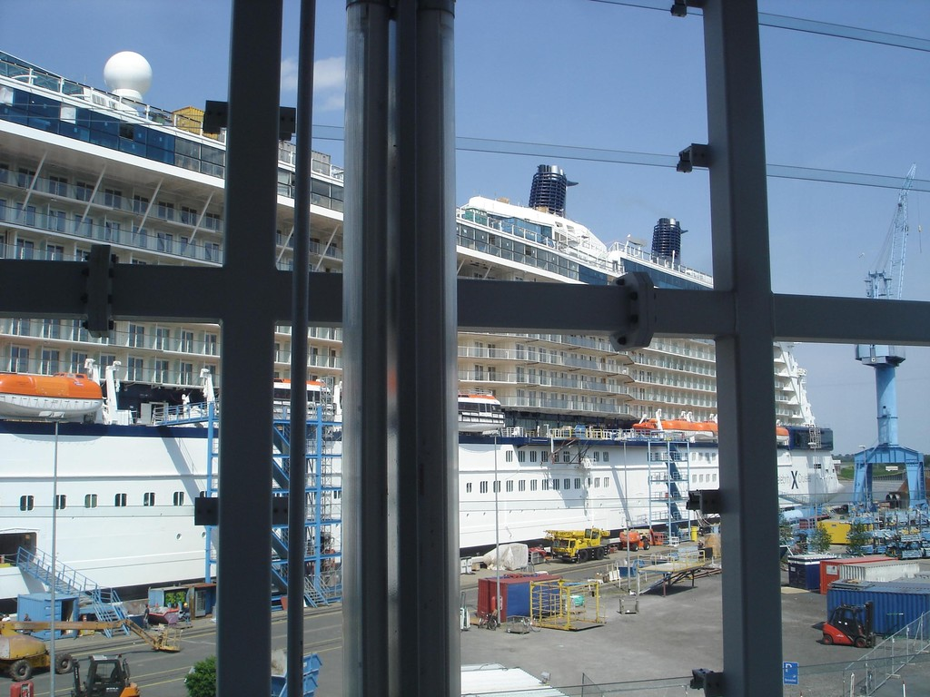 17.08.2008 Besichtigung der Meyer-Werft in Papenburg