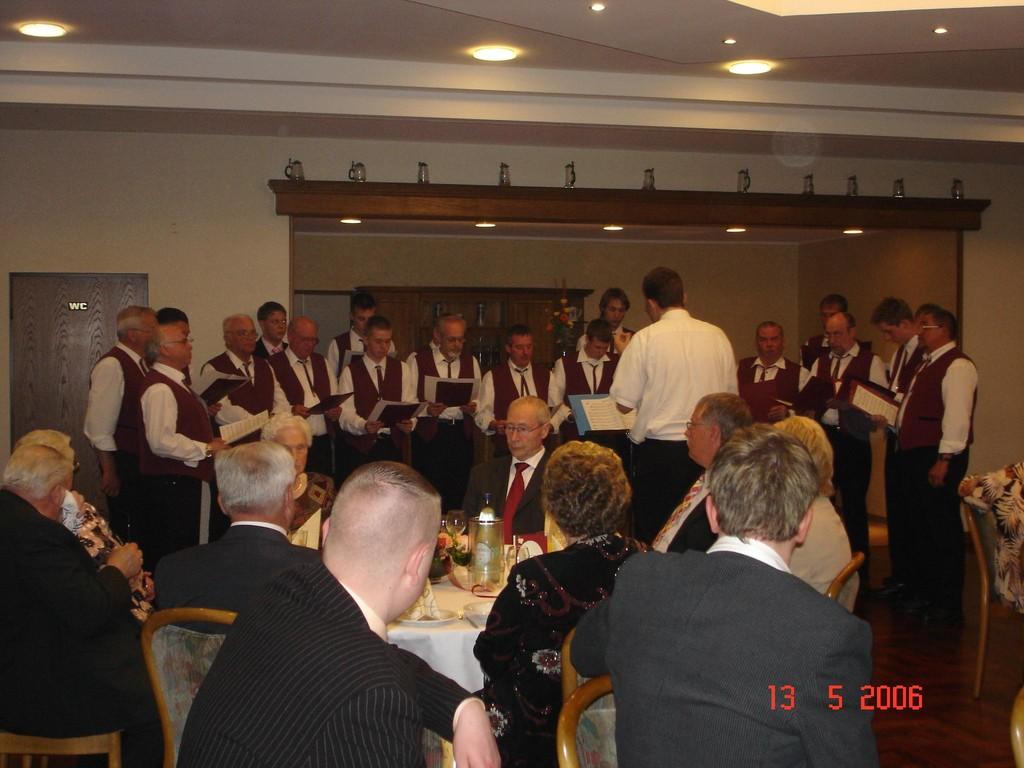 13.05.2006 Goldene Hochzeit Eheleute Lange