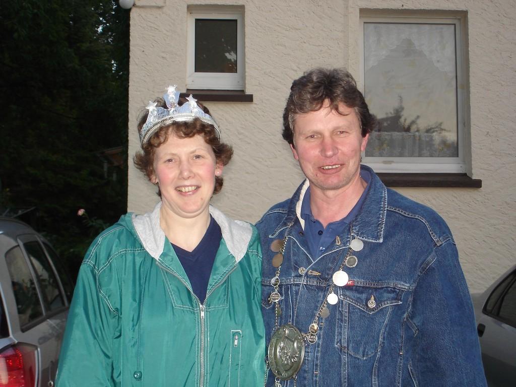 27.06.2008 Sängerschützenkönigspaar Reinhard & Elisabeth 2008
