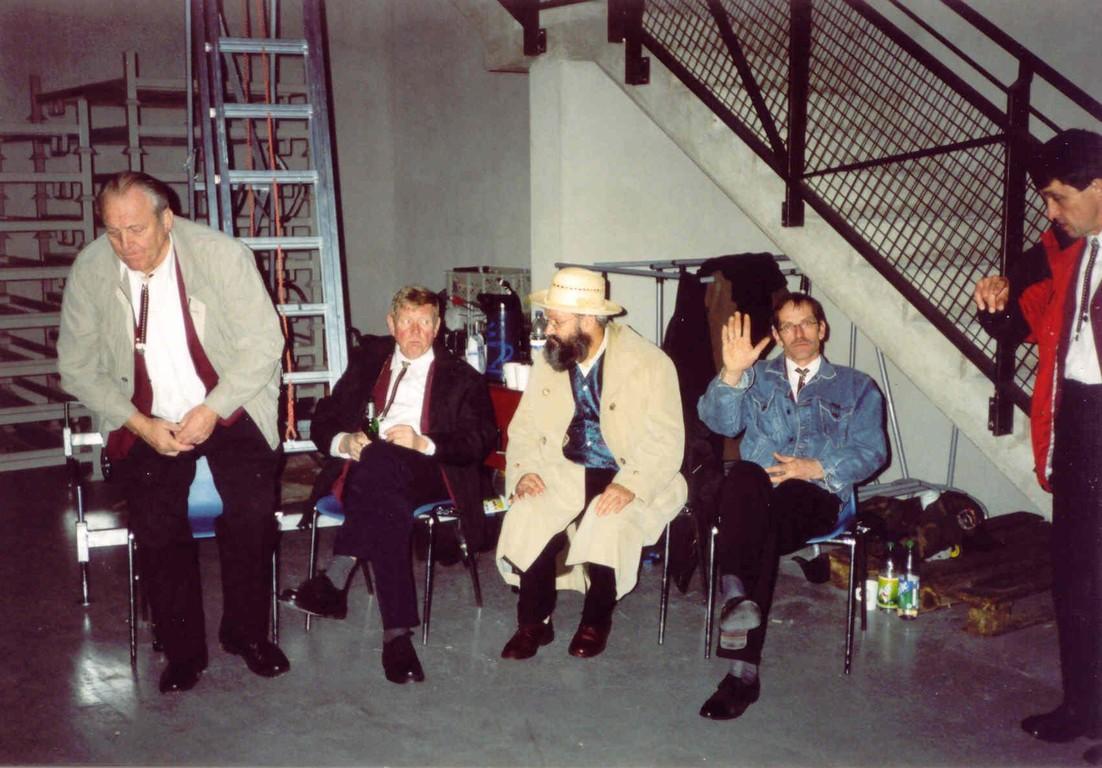 26.11.2003 Bielefeld Ringlokschuppen, Backstage