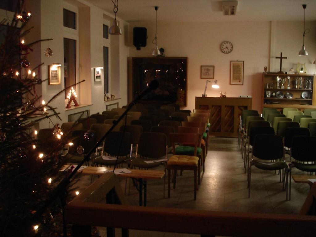 Vorbereitungen zur Nikolausfeier 2006