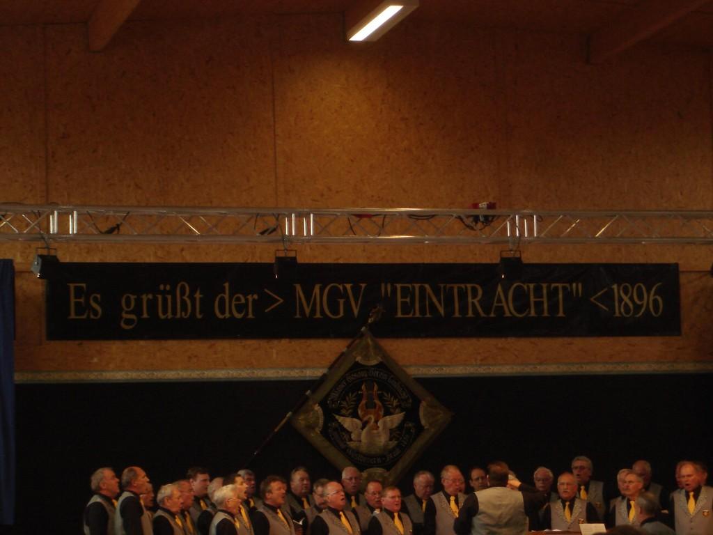 Freundschaftssingen beim MGV Westbevern-Vradrup