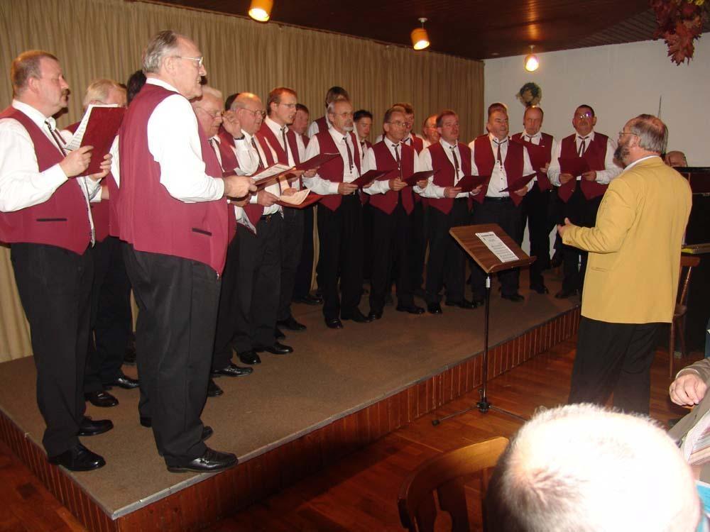 23.10.2004 Zu Gast bei Venner Chorfest
