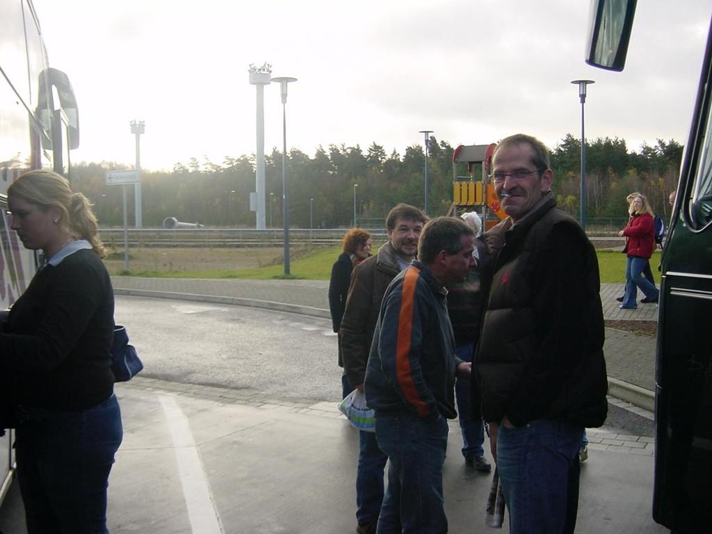13.11.2004 Auf nach Berlin ins Tempodrom - Pinkelpause