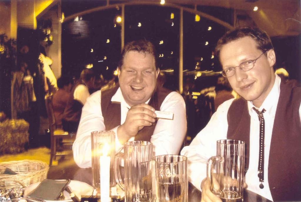 13.11.2004 Auf nach Berlin ins Tempodrom - Gemeinsames Essen vor dem großen Auftritt