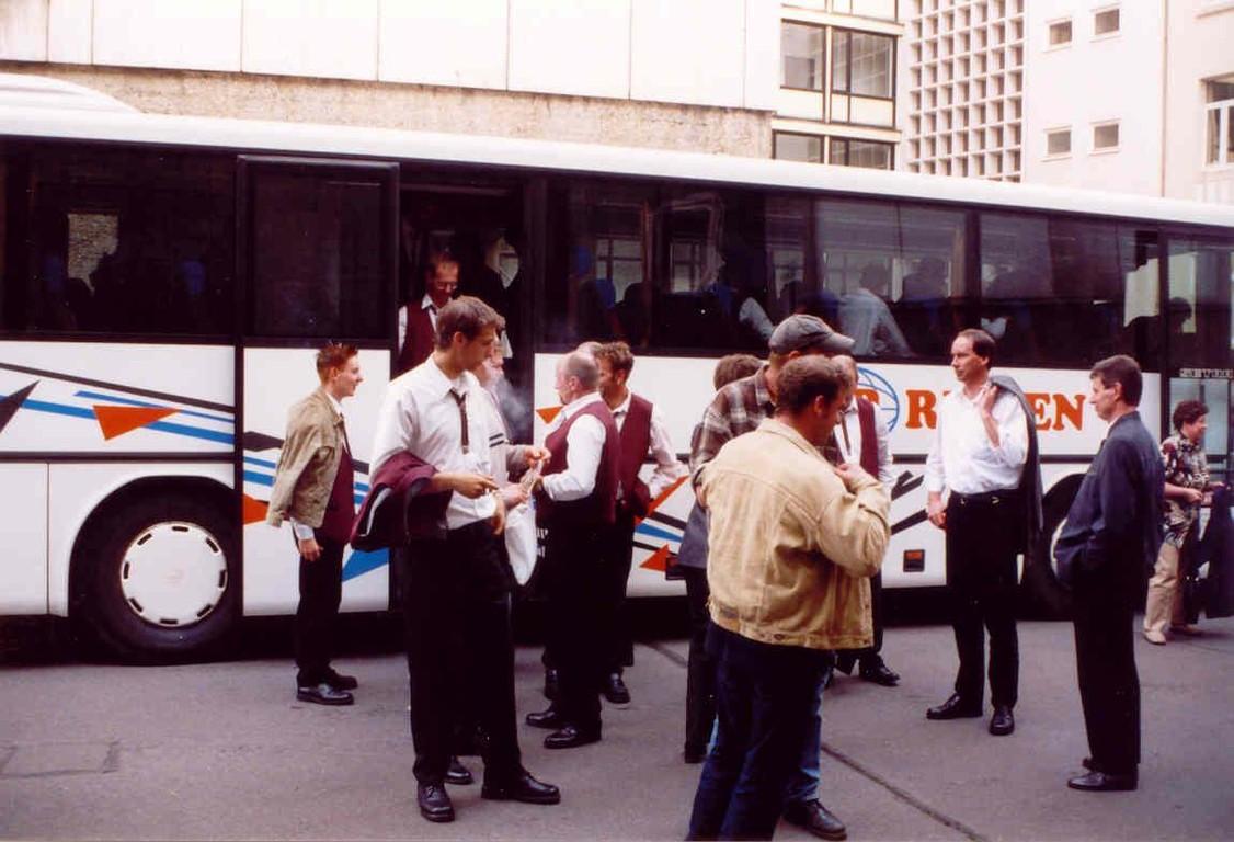 11.05.2003 Ankunft am Theater am Aegi, Hannover