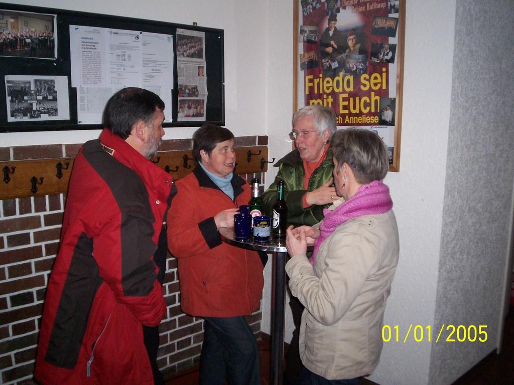 06.12.2008 Nikolausfeier des MGV