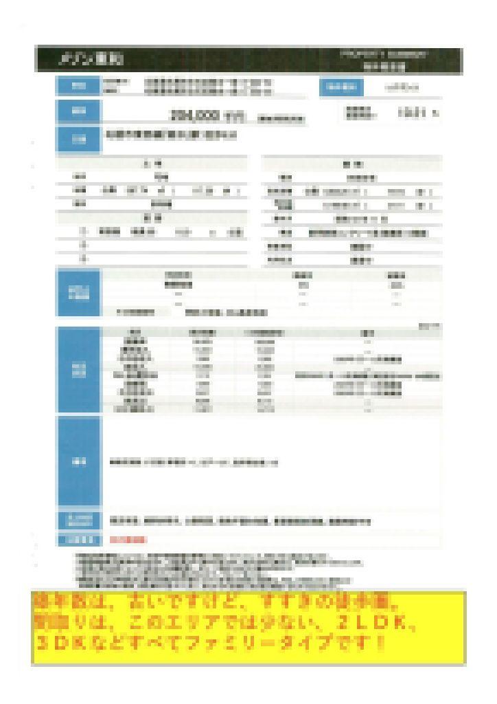 2021.03.30【売マンション】白石区2LDK・3DK 20,400万円 他3物件 モザイク済