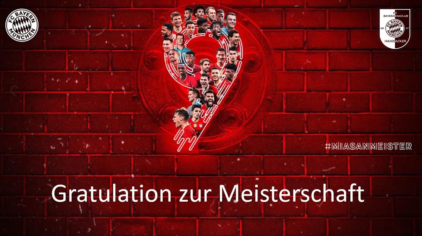 Der FC Bayern ist Meister