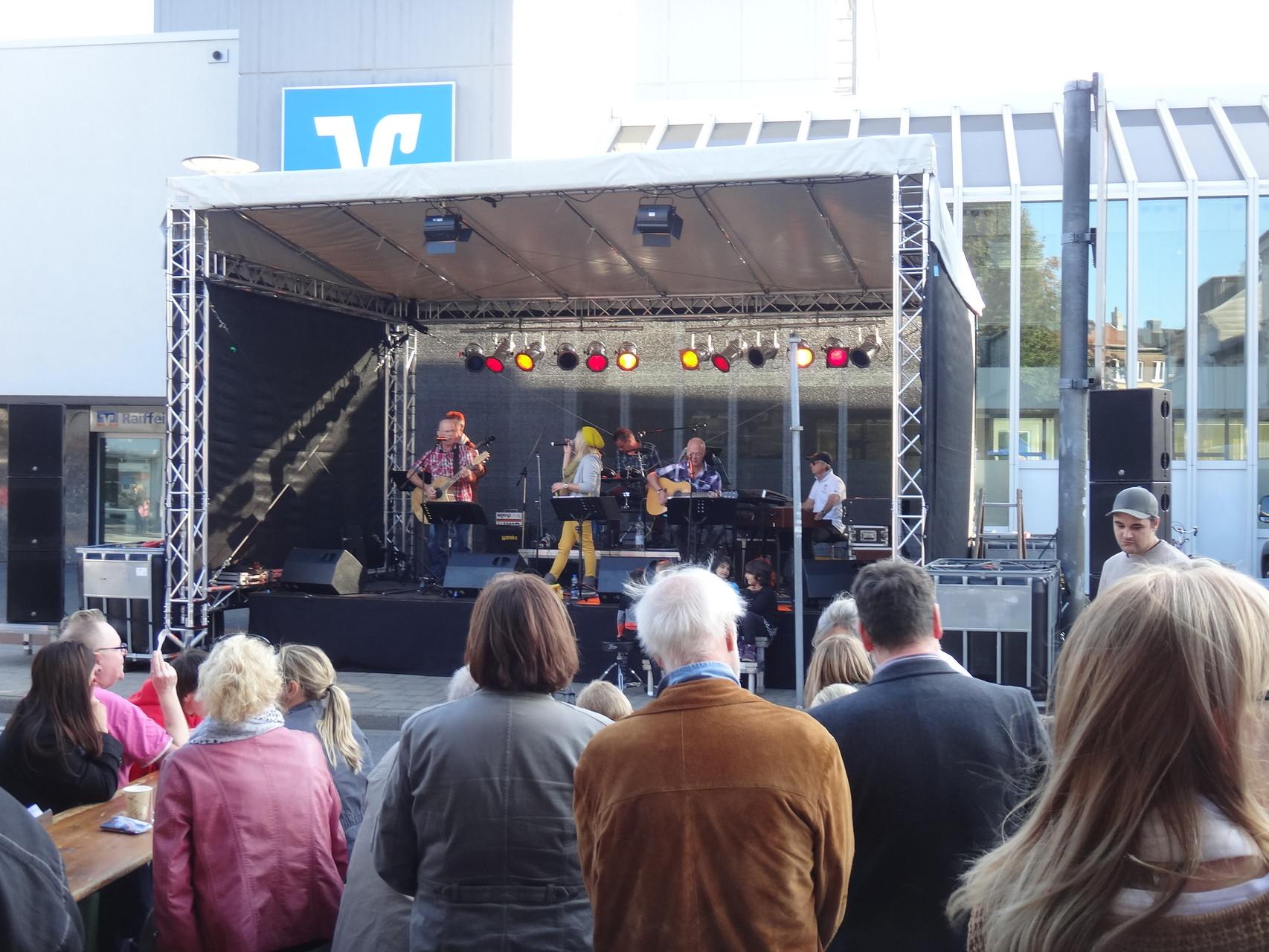 Bühne beim CityHerbst 2013