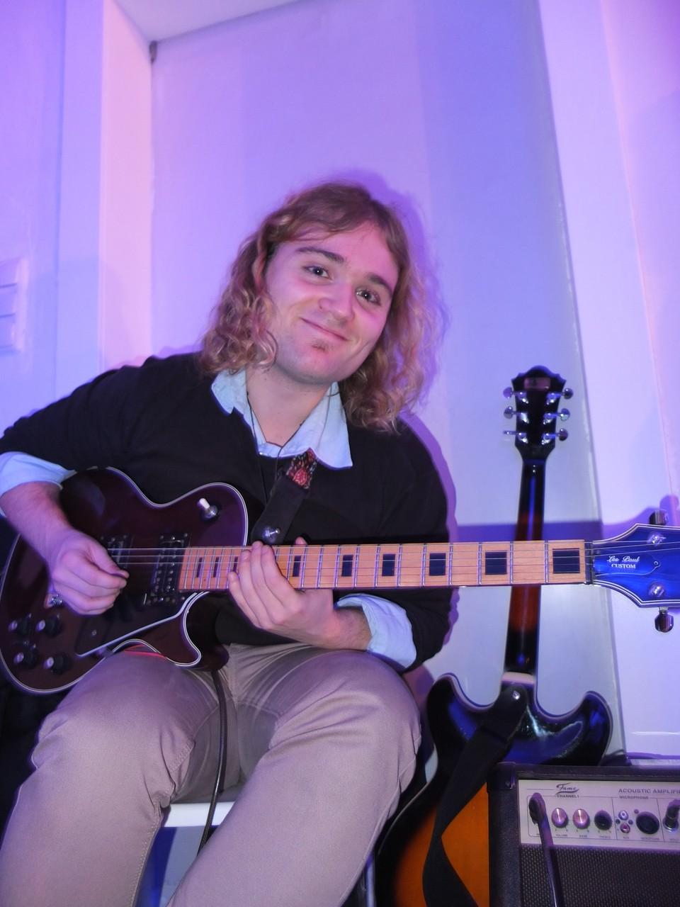 Christian Weniger spielte