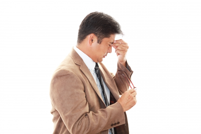 眼精疲労改善も身体管理の知識の一環