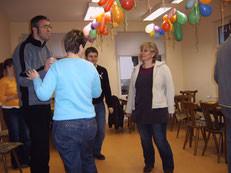 Tanzen im Kugelweg 24