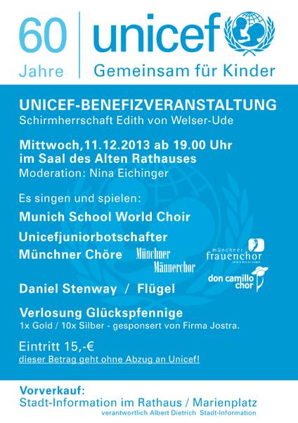 2013 Unicef-Benefizkonzert