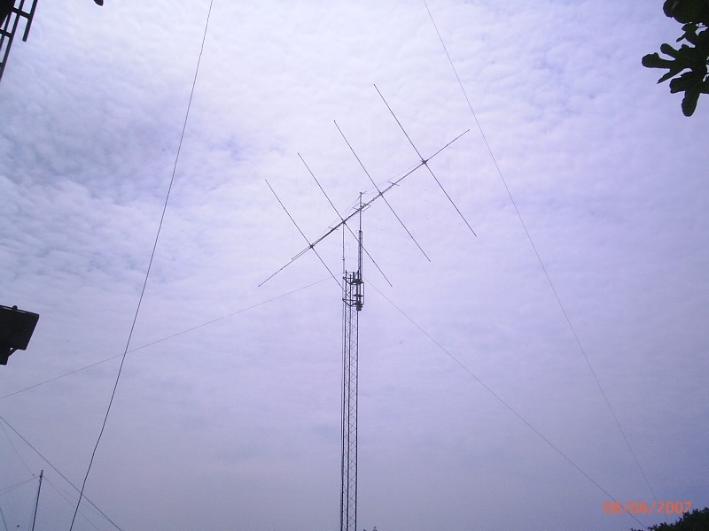 Cubical Quad: 4 el. 10,15,20m by IZ2HFG
