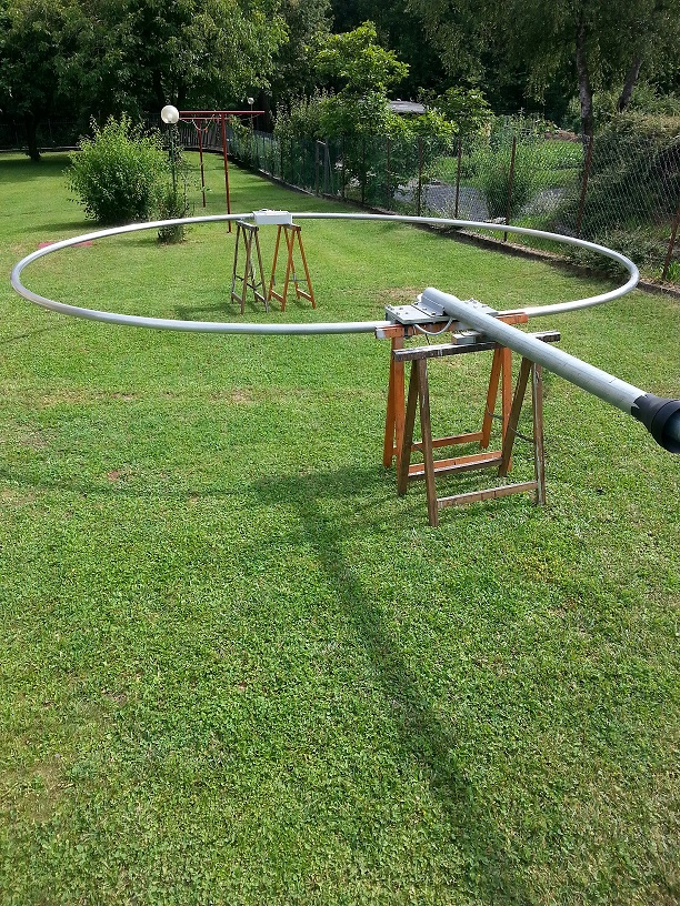 The Magnetic Loop before the lifting phases.