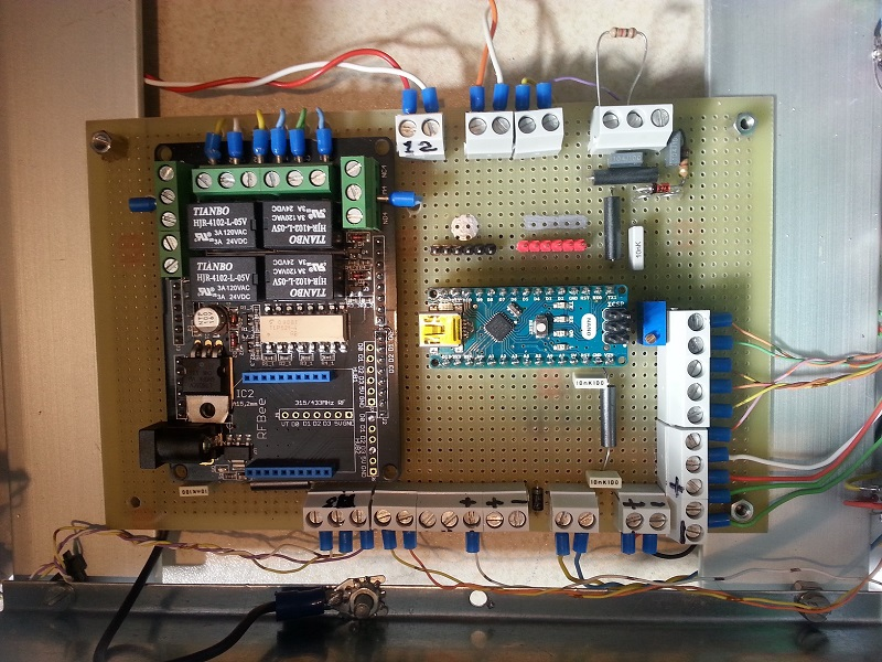 Arduino, relays and connections.