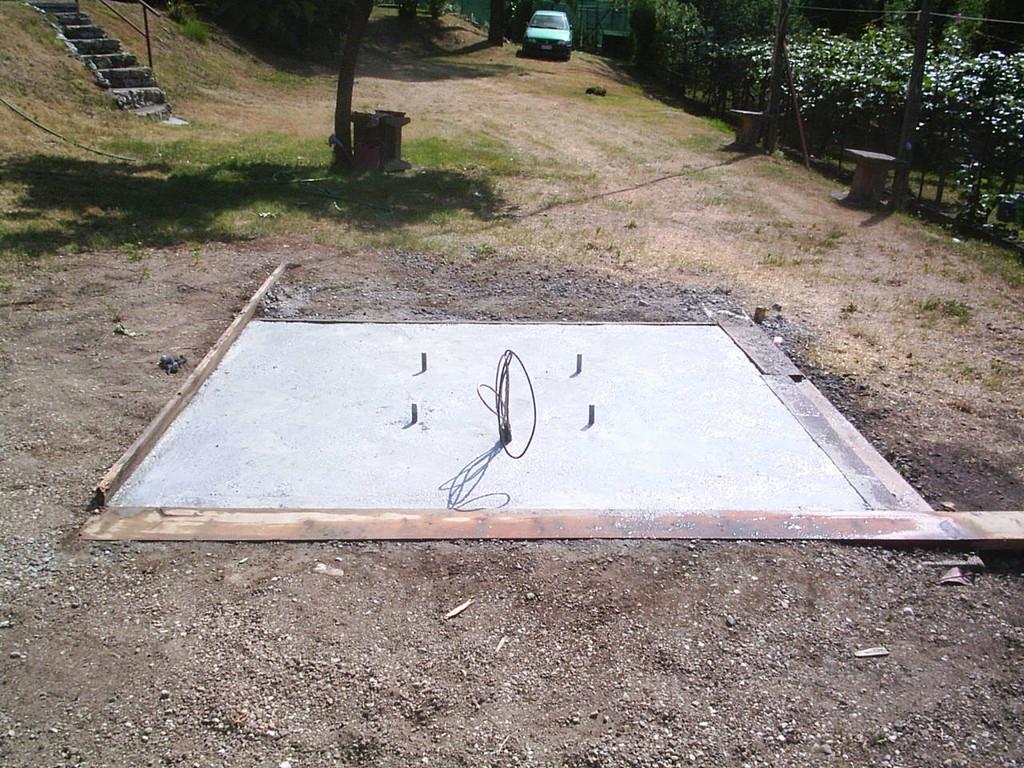 Basamento plinto (2x2x1m) by IZ2HFG