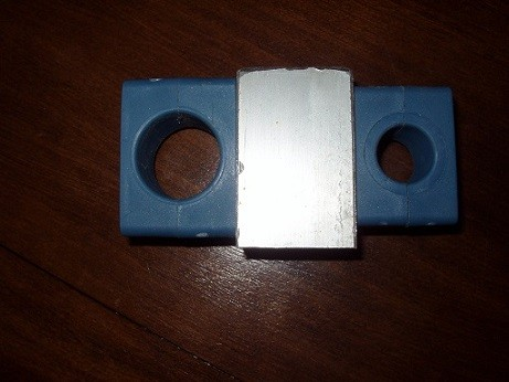 Pieffeci spacers for the heavy duty fiberglass poles