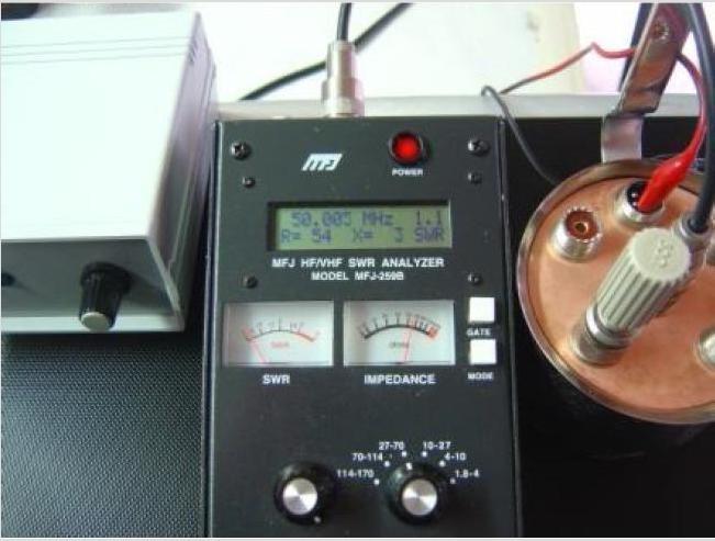 "Commutatore Remoto ""Litro"" by IZ2HFG: Misure ROS 50Mhz."