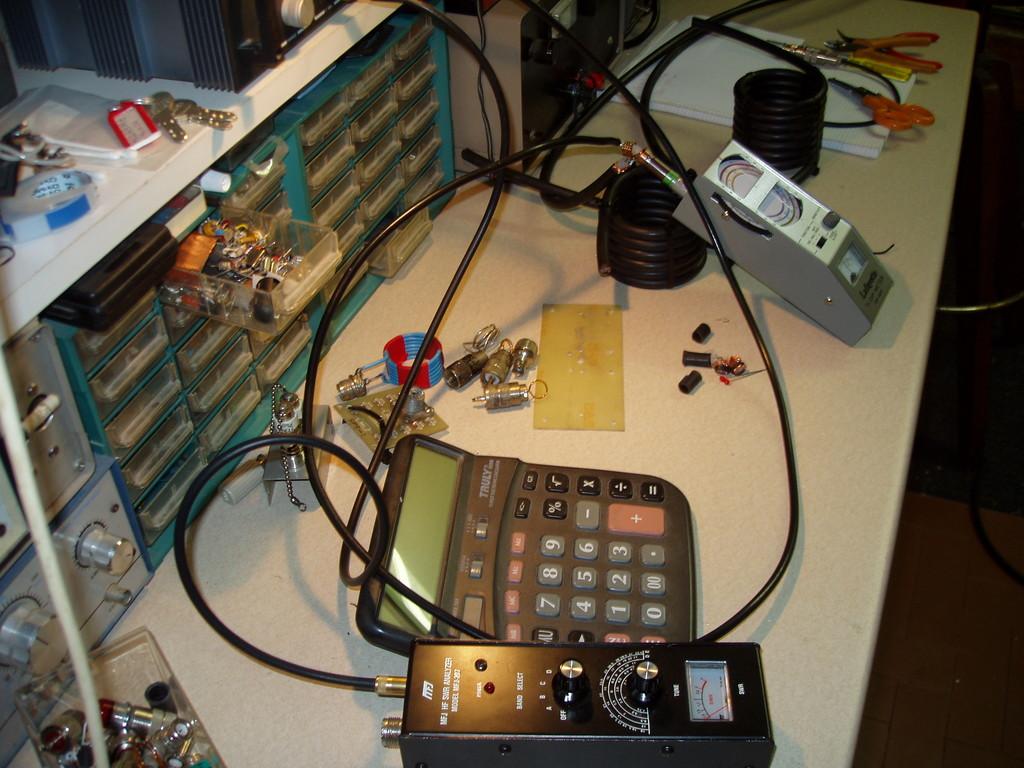 Stub 1/4 lambda: Preparazione in laboratorio