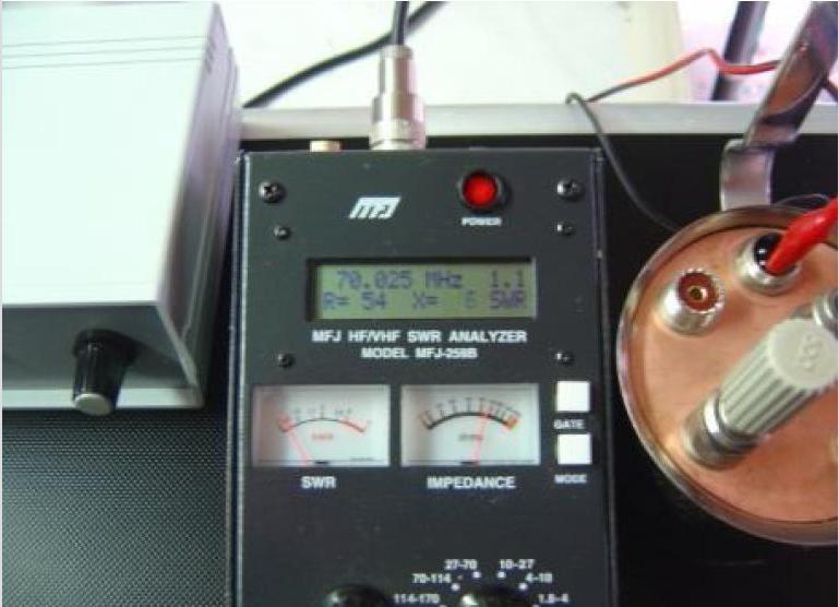 "Commutatore Remoto ""Litro"" by IZ2HFG: Misure ROS 70Mhz."