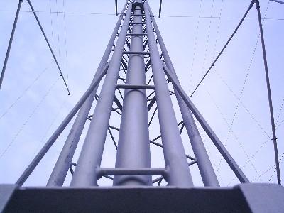 Traliccetto Carrello: Sostegno mast (dettaglio)