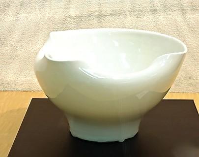 小泉満惠 <影青釉片口鉢>