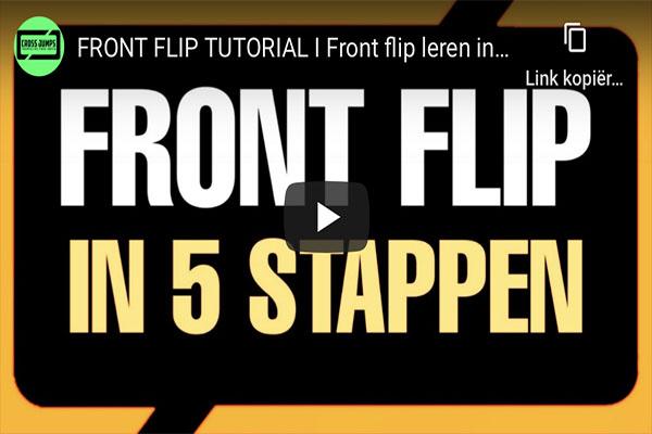 ONLINE CLINIC - Frontflip
