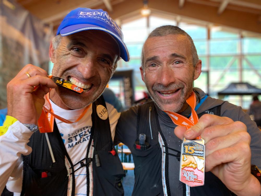 Hier gehts zur Berichterstattung über Toni und seinem Partner Oswald Wenin (Team Stelvio Marathon) vom Transalpine Run. Haut rein ihr alten Säcke ;-)