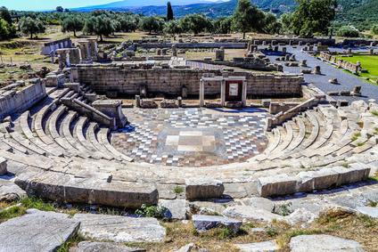 Messene - antike Ausgrabungsstätten Peloponnes