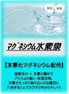 マグネシウム水素泉