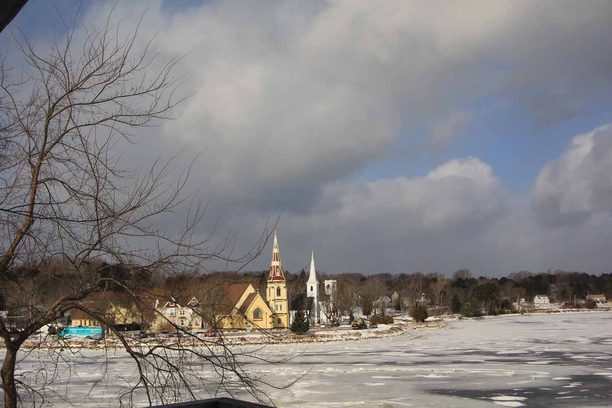 Three Churches - Mahone Bay