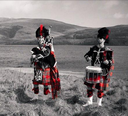 Loch Lomond, Highlander, Highland Saga Show, Scottish Music, Scotland, Schottische Musik, Dudelsack, Bagpipe, Music Show,
