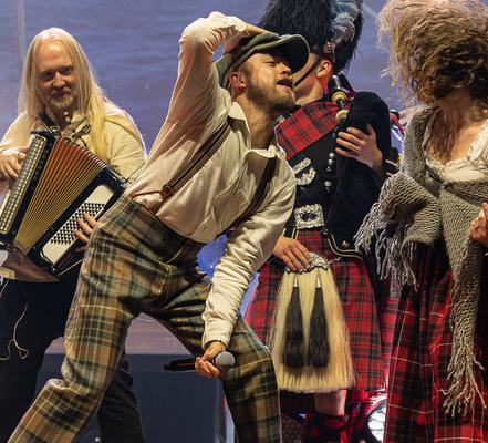 Highland Saga Show live, Scottish Music, Scotland, Schottische Musik, Dudelsack, Bagpipe, Music Show,
