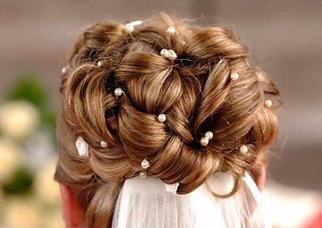 Brautfrisur Hochzeitsfrisur Sonnenblume Style me up  schweiz baselland