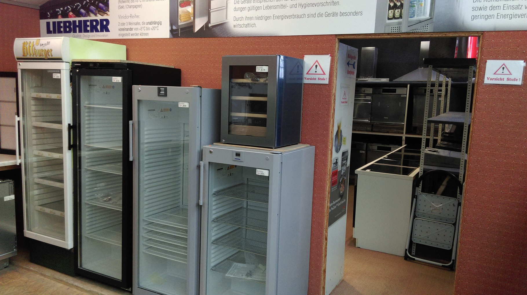 Küchengeräte Elektrogeräte Ausstellung Köln - HGS Elektro