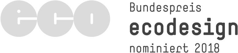 Unsere hejhej-mats Yogamatten waren auf Grund ihres einzigartiges Design für den bundespreis Ecodesign nominiert.