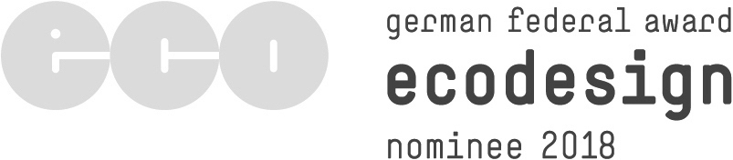 Our hejhej-mats and their individual design were nominated for the german federal award ecodesign 2018.