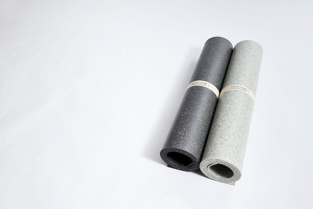 die dunkle und helle hejhej-mat Yogamatte - konsumiere bewusst, wenn du dir eine Yogamatte kaufst