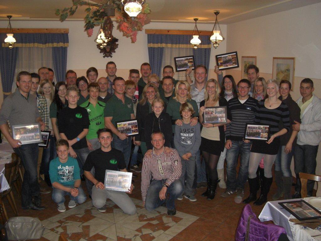 Ligaabschlussfeier 2012 Buschenschank Zweiger