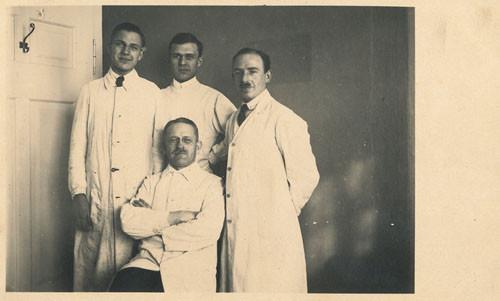 Gruppenbild Zahnärzte